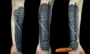 miguel darkacid inkguitar tattoo